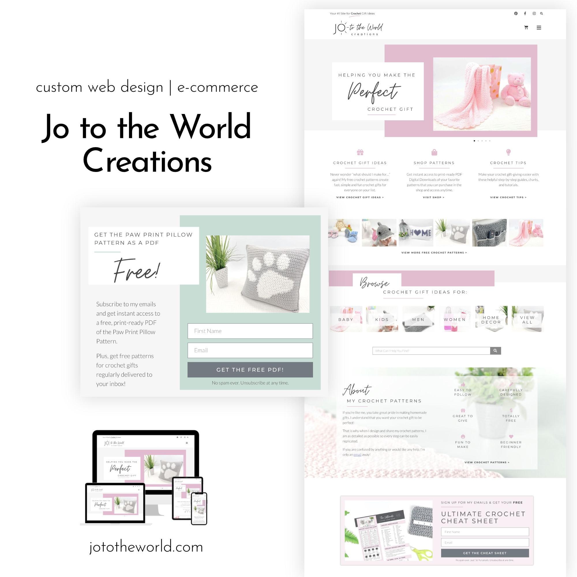 Jo to the World Portfolio