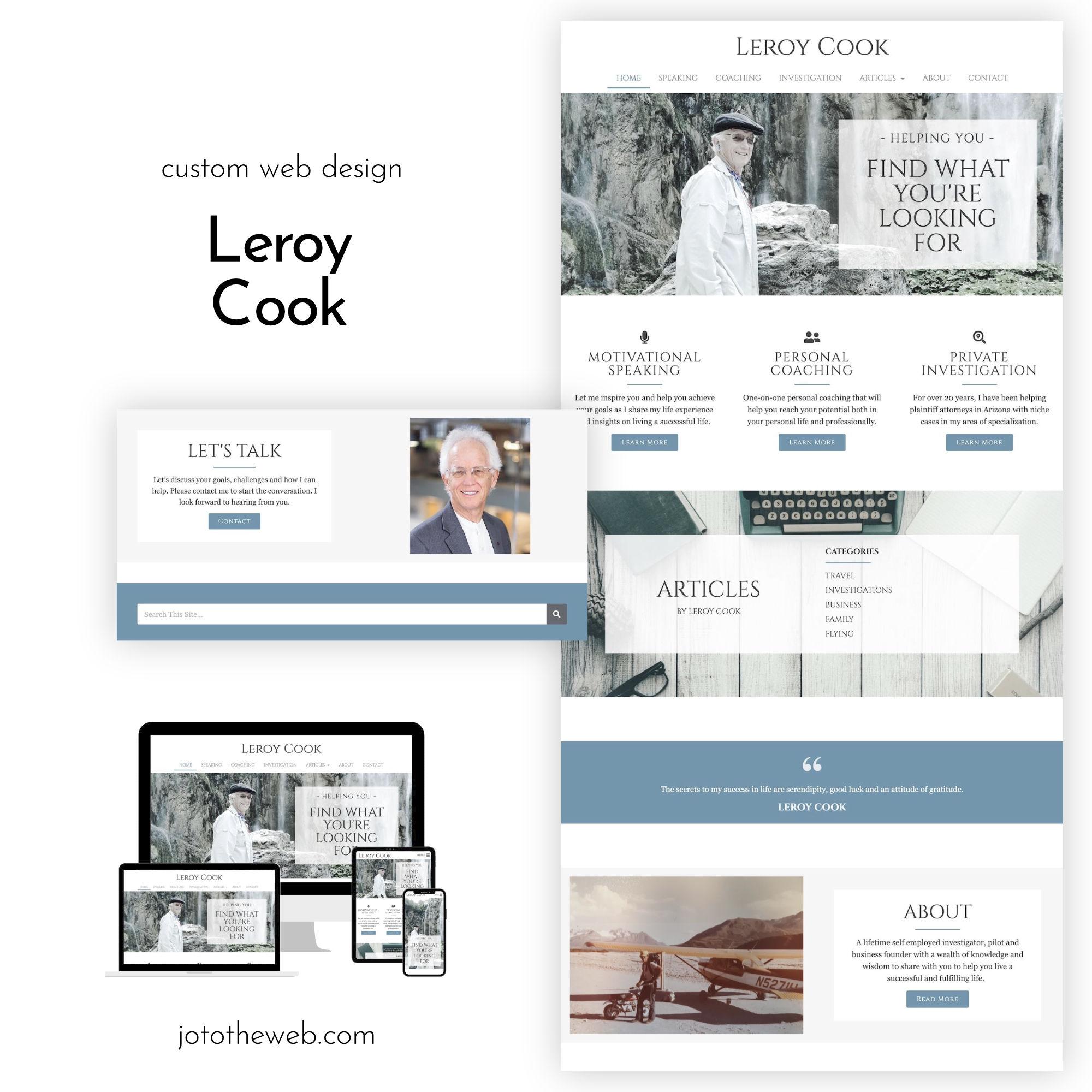 Leroy Cook Website