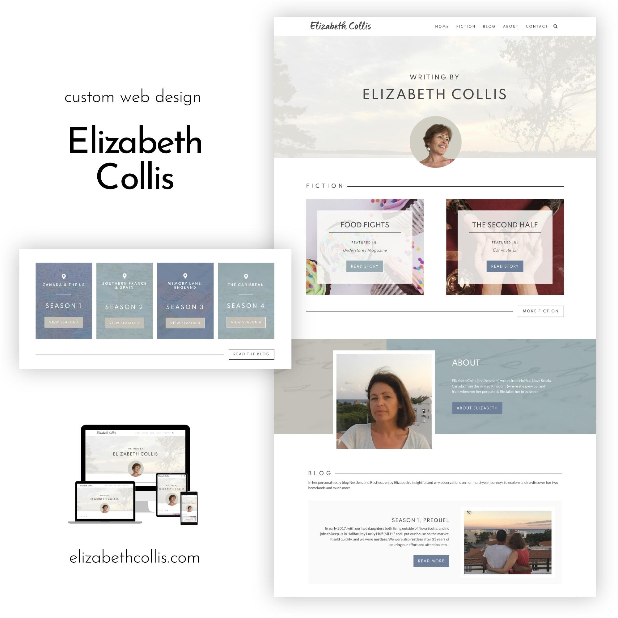 Elizabeth Collis Website Portfiolo
