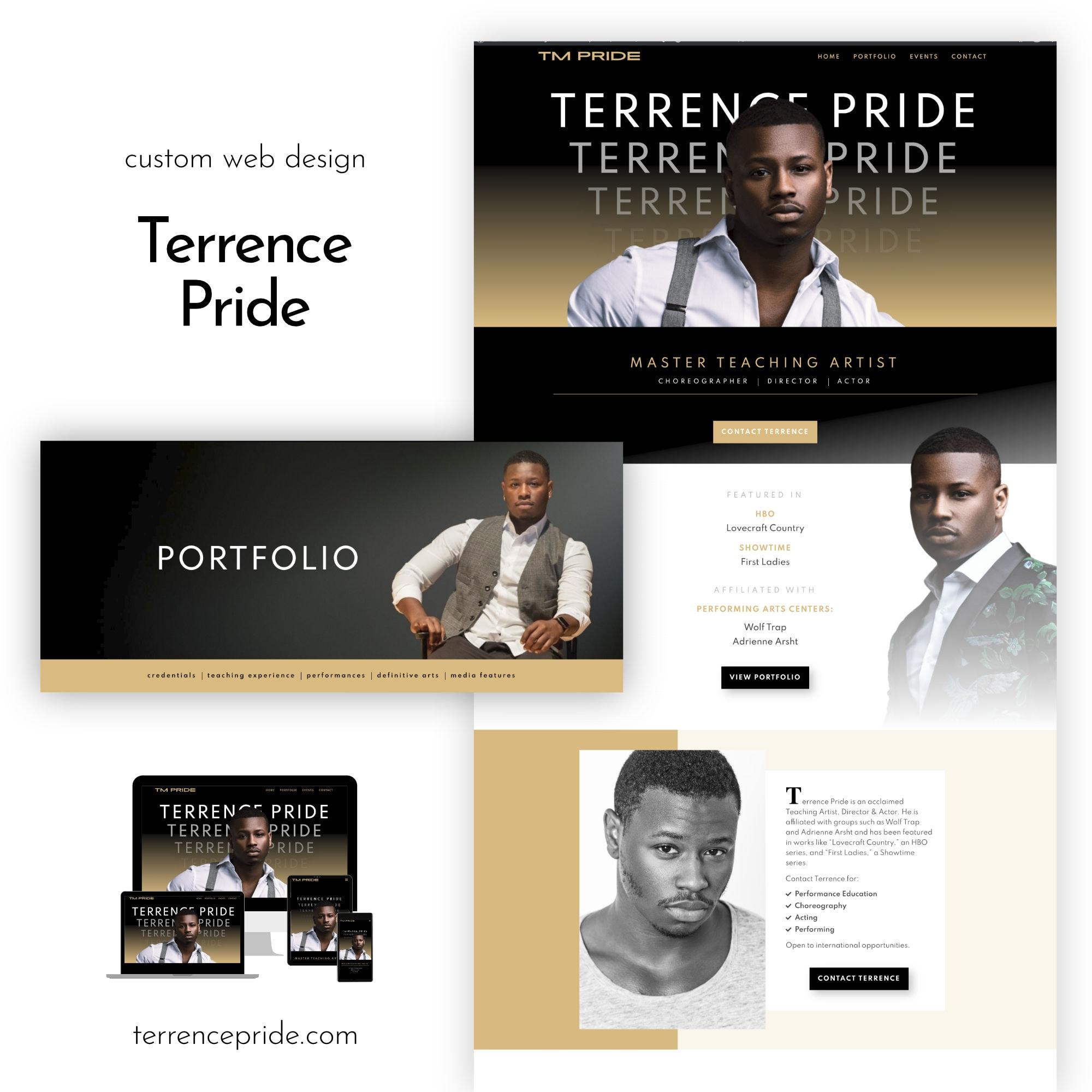 Terrence Website Portfolio