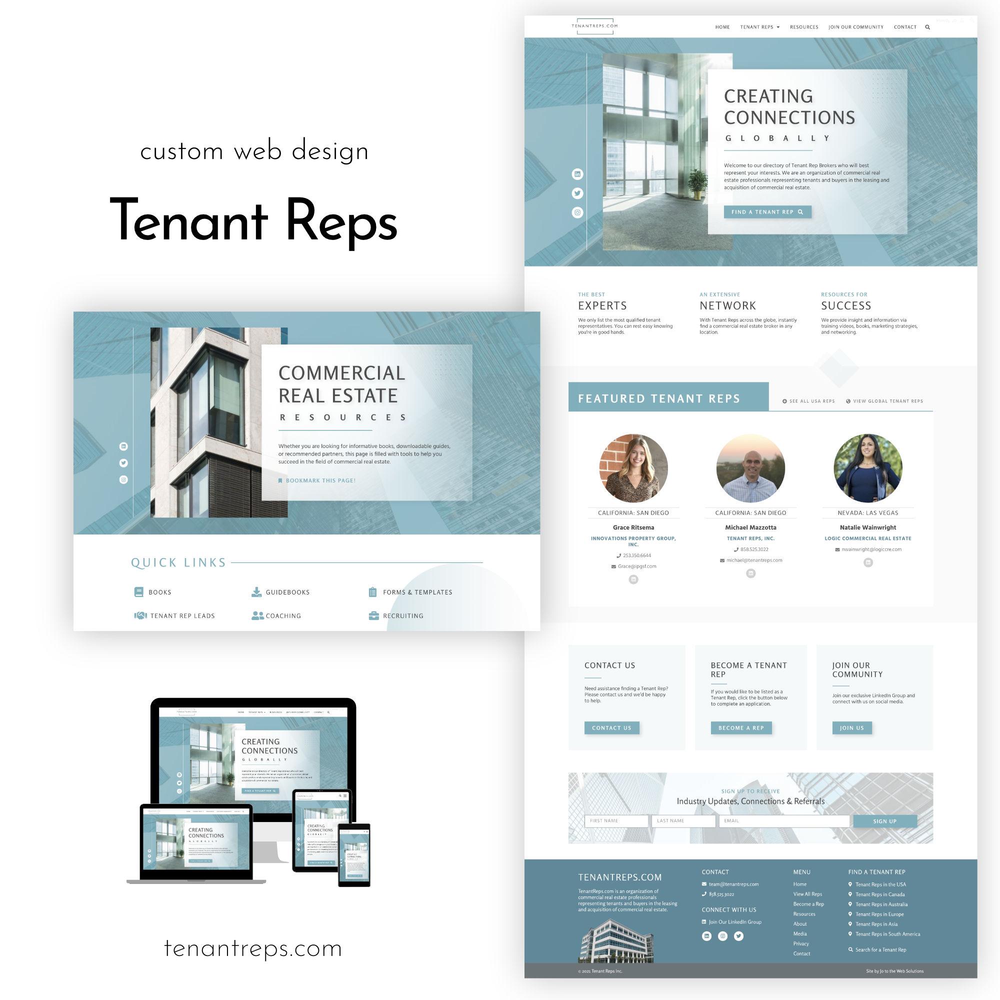 Tenant Reps Website